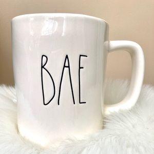 """RAE DUNN """"BAE"""" ceramic mug"""